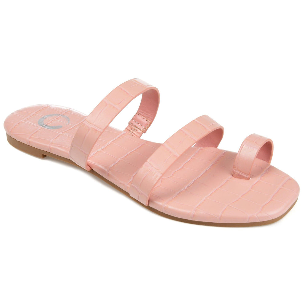 DAIYA SHOES Journee Collection Pink 8