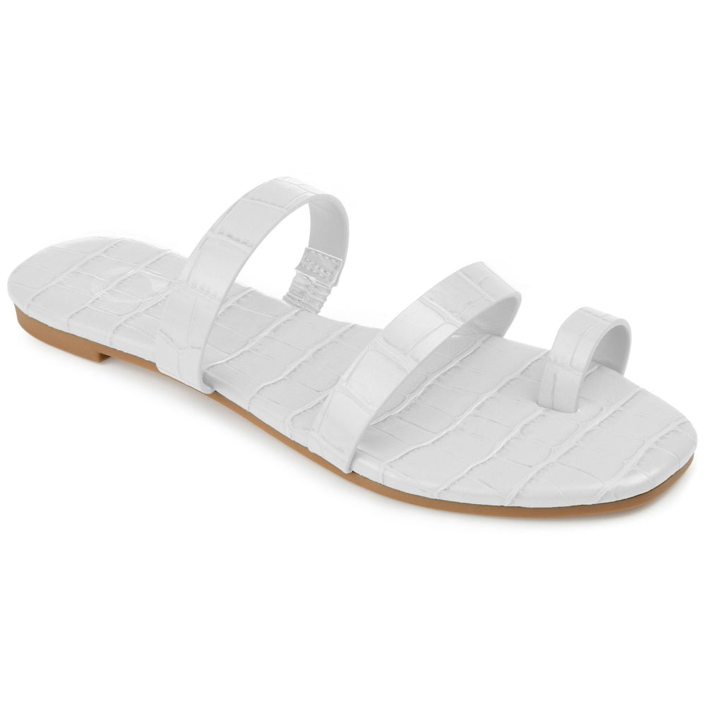 DAIYA SHOES Journee Collection White 9.5