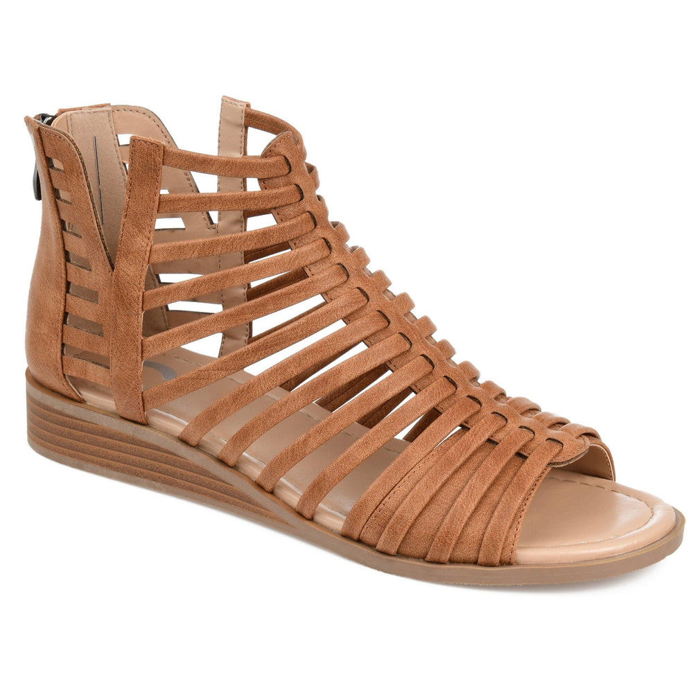 DELILAH Shoes Journee Collection Brown 6