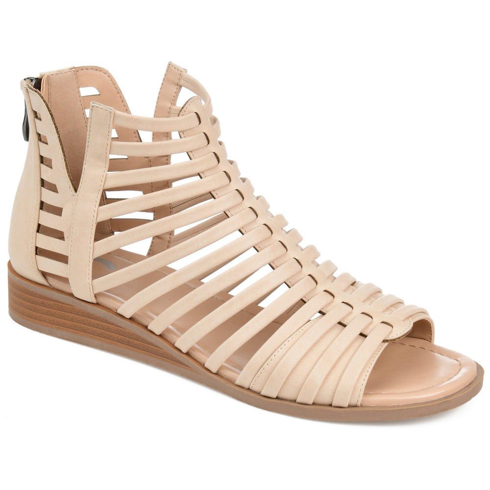 DELILAH Shoes Journee Collection Nude 5.5