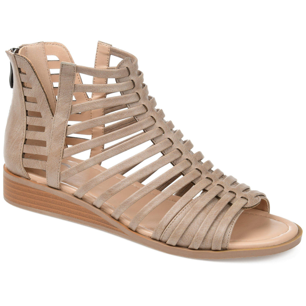 DELILAH Shoes Journee Collection Taupe 10