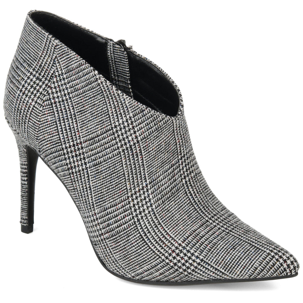 DEMMI Shoes Journee Collection Plaid 5.5