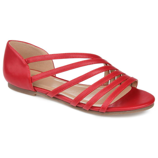 DIVINA Shoes Journee Collection Red 10