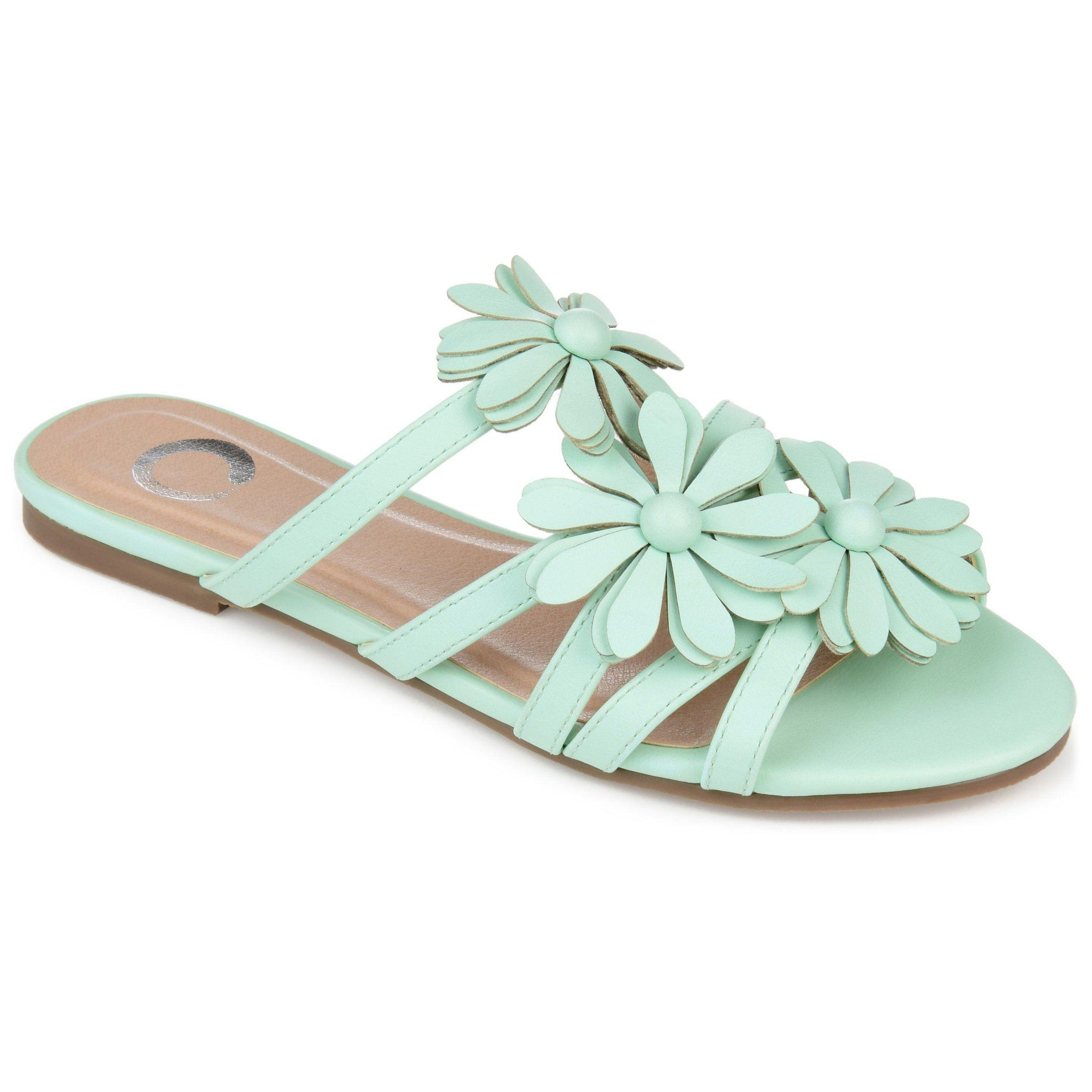 DOLLIAH SHOES Journee Collection Mint 6.5