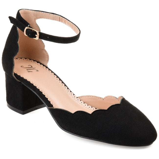 EDNA Shoes Journee Collection Black 5.5