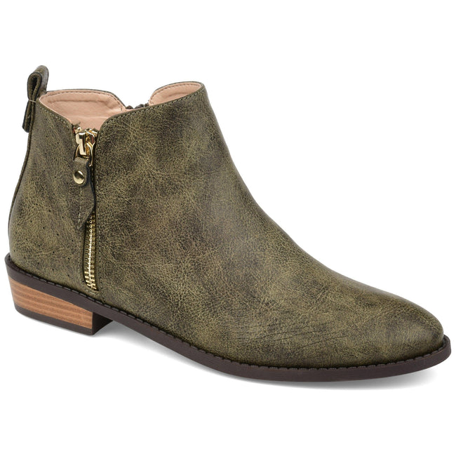 ELLIS Shoes Journee Collection Olive 5.5