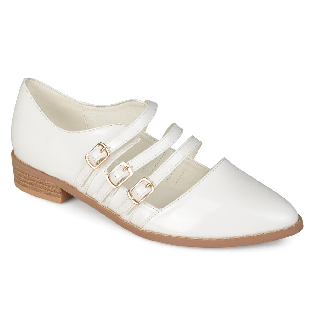 ELYSE Shoes Journee Collection White 5.5