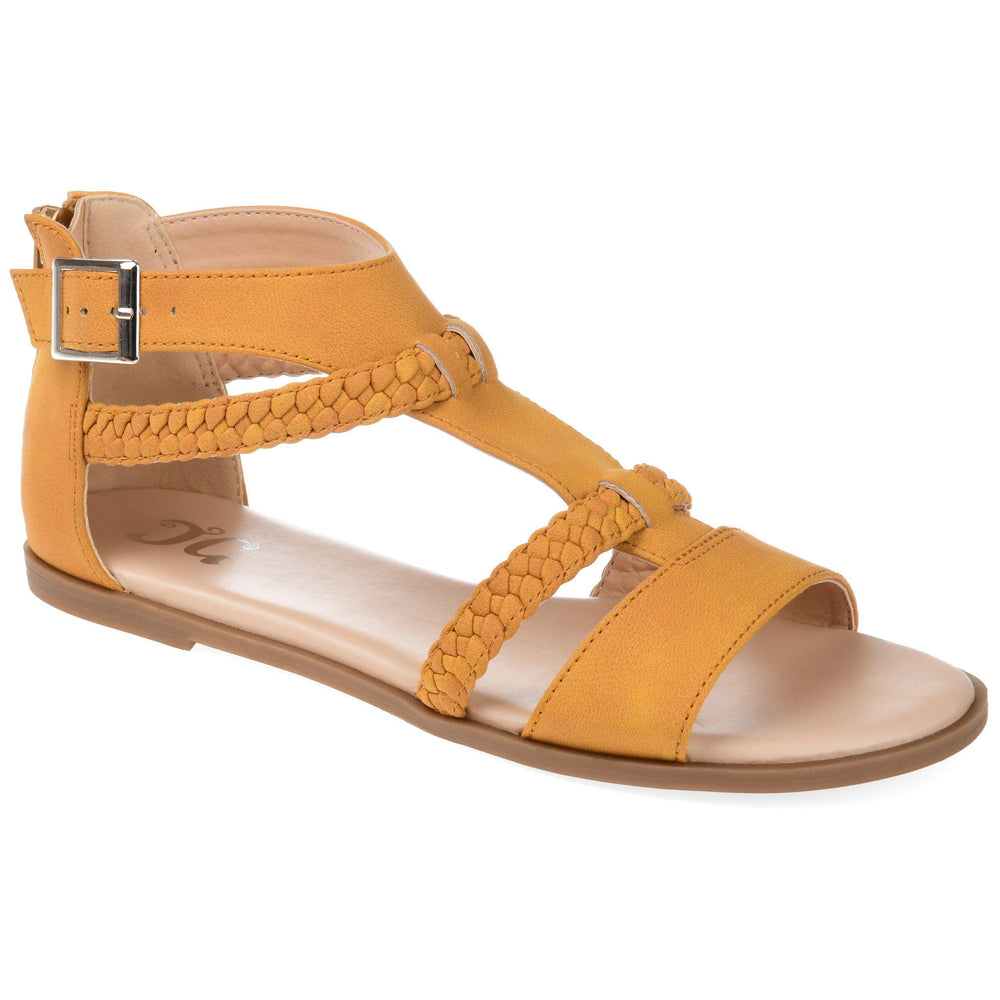 FLORENCE Shoes Journee Collection Mustard 5.5