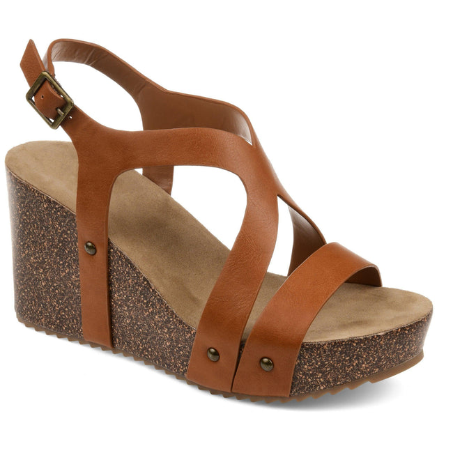 GENEVA Shoes Journee Collection Tan 5.5