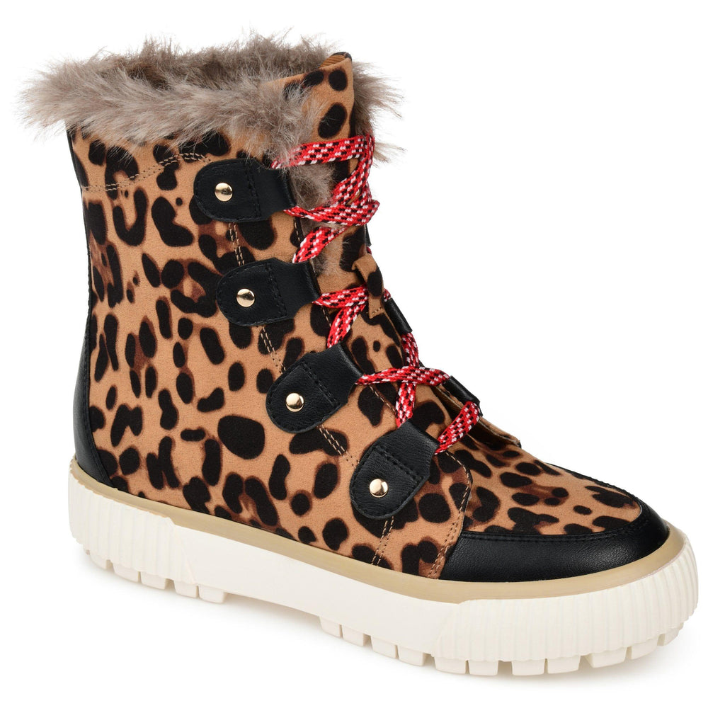 GLACIER SHOES Journee Collection Leopard 6.5