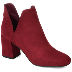GWENN Shoes Journee Collection Burgundy 5.5