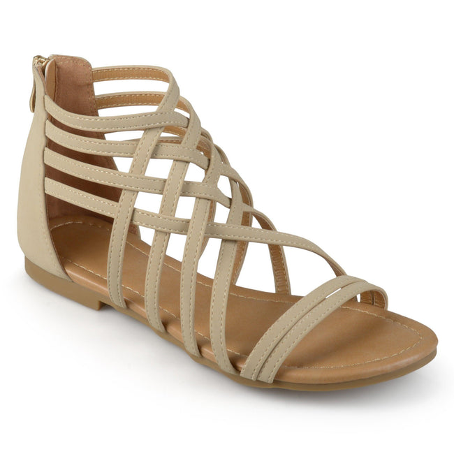 HANNI WIDE WIDTH Shoes Journee Collection Nude 5.5