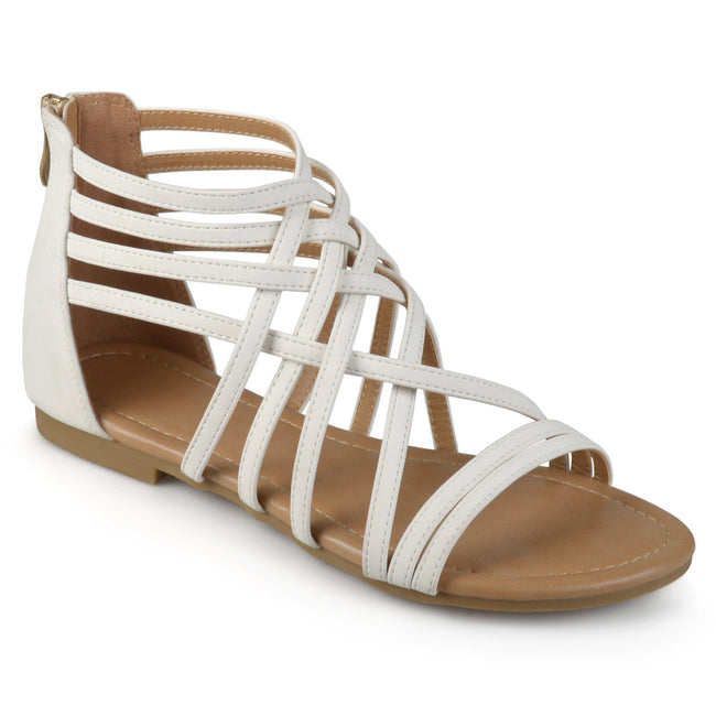 HANNI WIDE WIDTH Shoes Journee Collection White 5.5