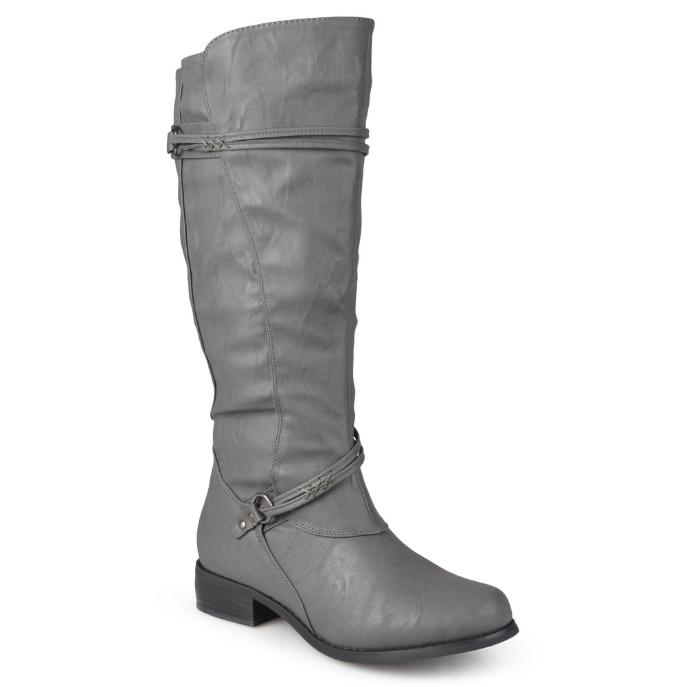 Harley Extra Wide Calf Boots | Faux