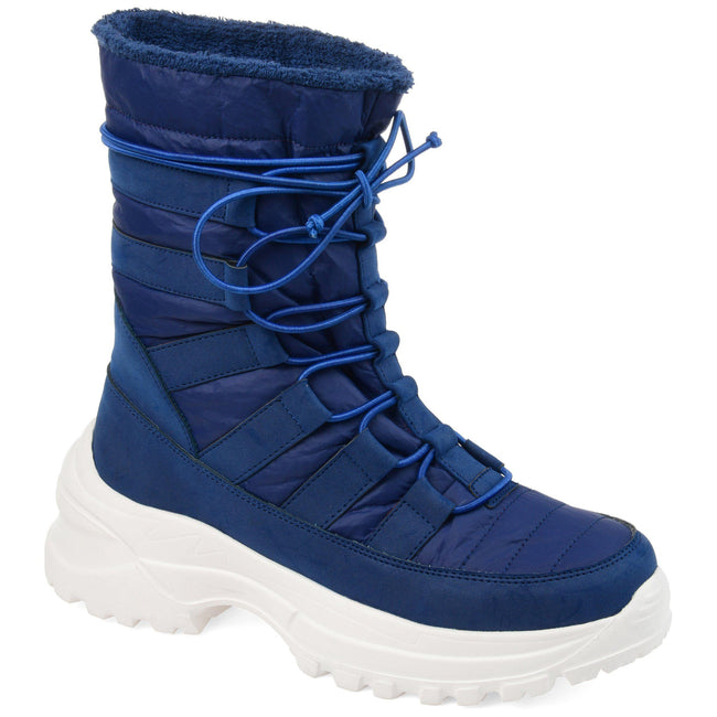 ICEY Shoes Journee Collection Blue 5.5