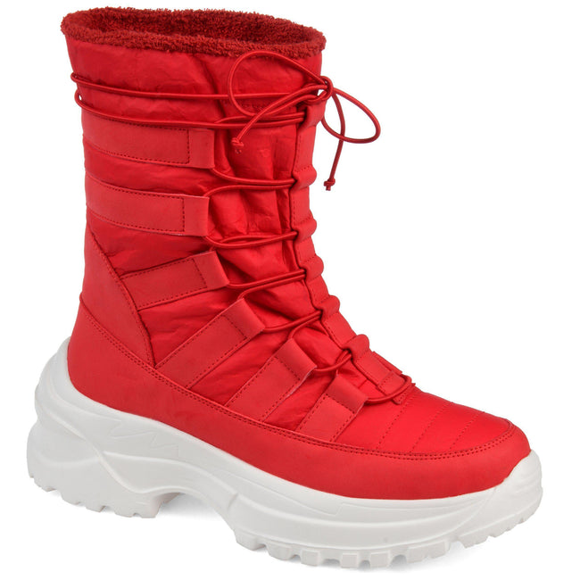 ICEY Shoes Journee Collection Red 7.5