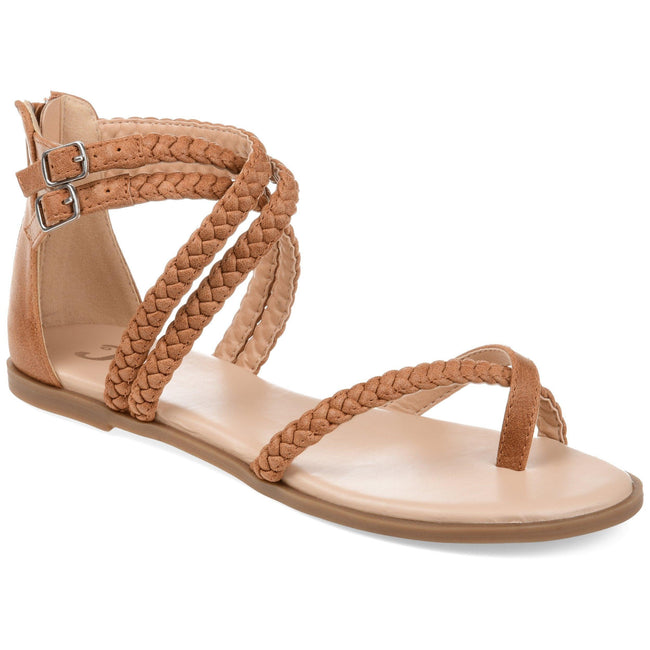 IMOGEN Shoes Journee Collection Brown 5.5