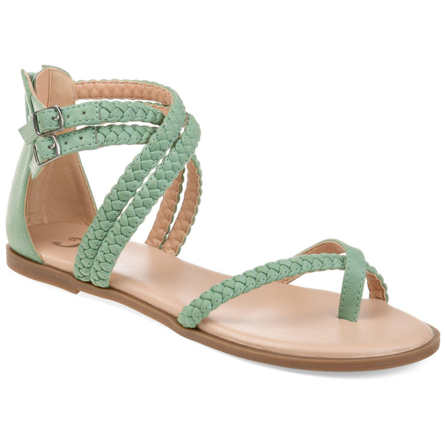 IMOGEN Shoes Journee Collection Green 5.5