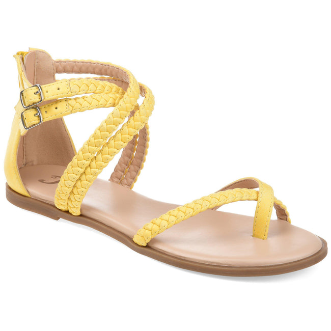 IMOGEN Shoes Journee Collection Yellow 5.5