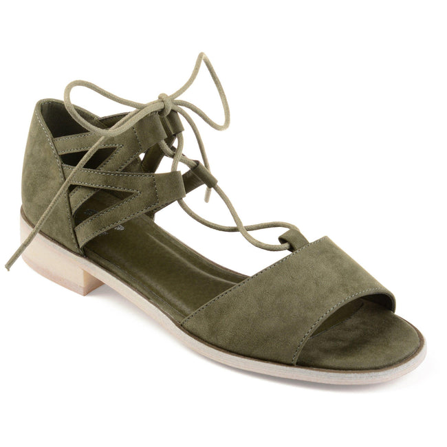 INGRID Shoes Journee Collection Olive 6.5