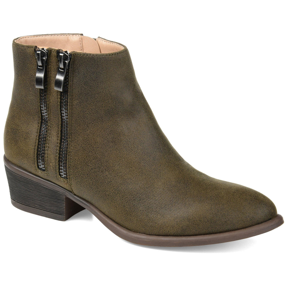 JAYDA Shoes Journee Collection Olive 5.5