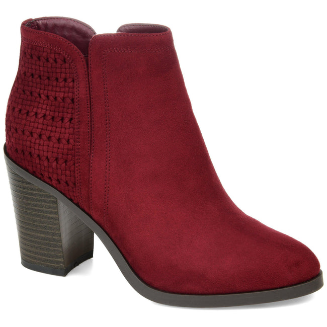 JESSICA Shoes Journee Collection Burgundy 5.5