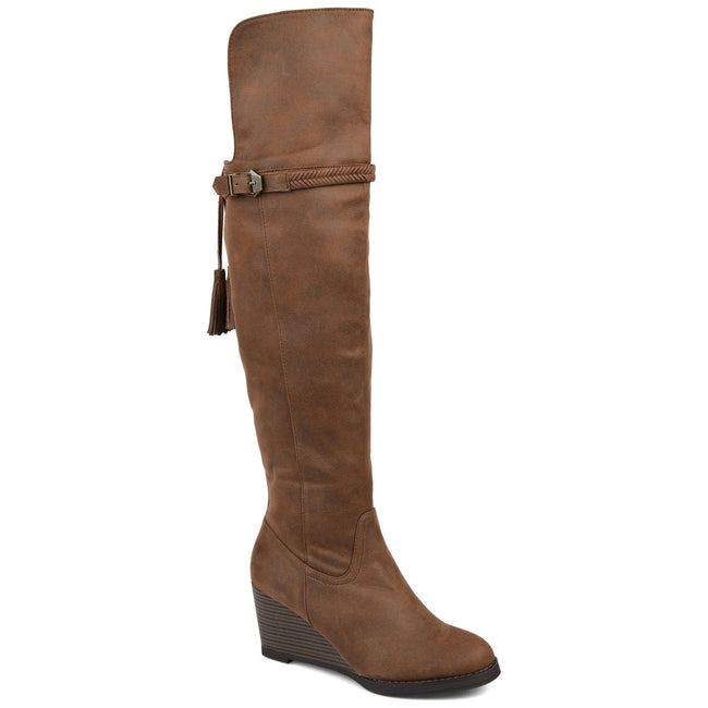 JEZEBEL Shoes Journee Collection Brown 5.5