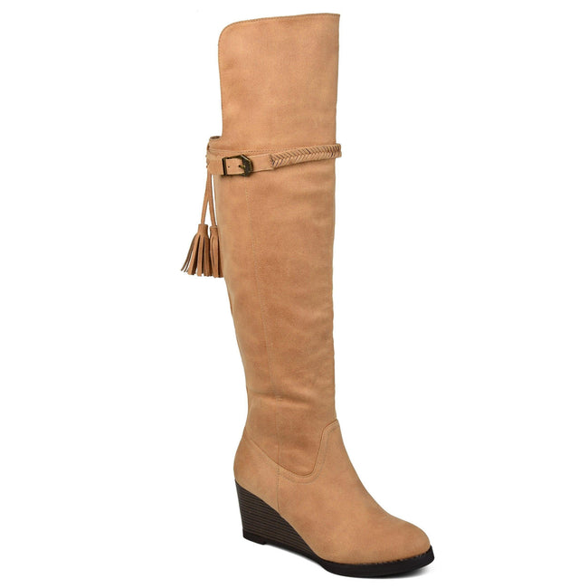 JEZEBEL Shoes Journee Collection Tan 5.5