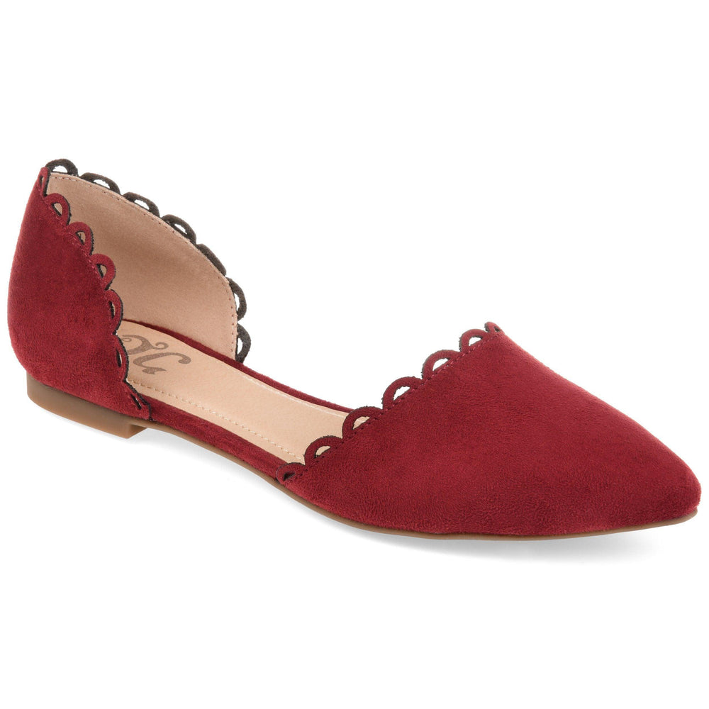 JEZLIN Shoes Journee Collection Wine 5.5