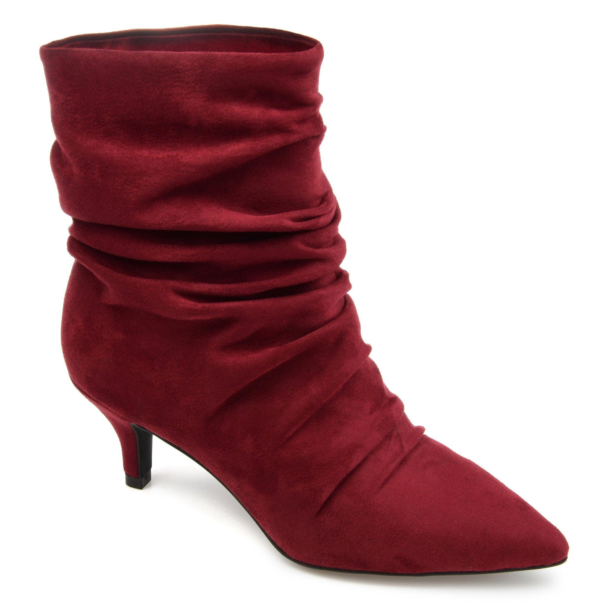 JO SHOES Journee Collection Wine 6