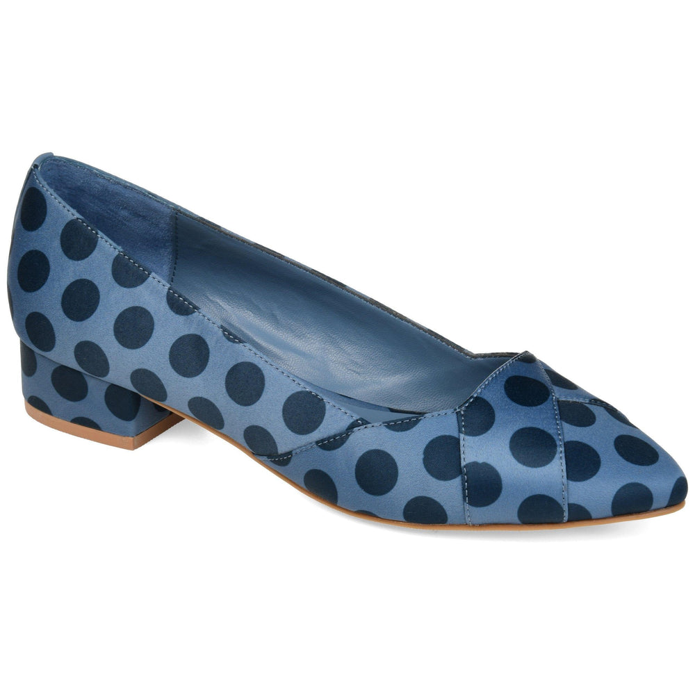 JUSTINE Shoes Journee Collection Blue 5.5