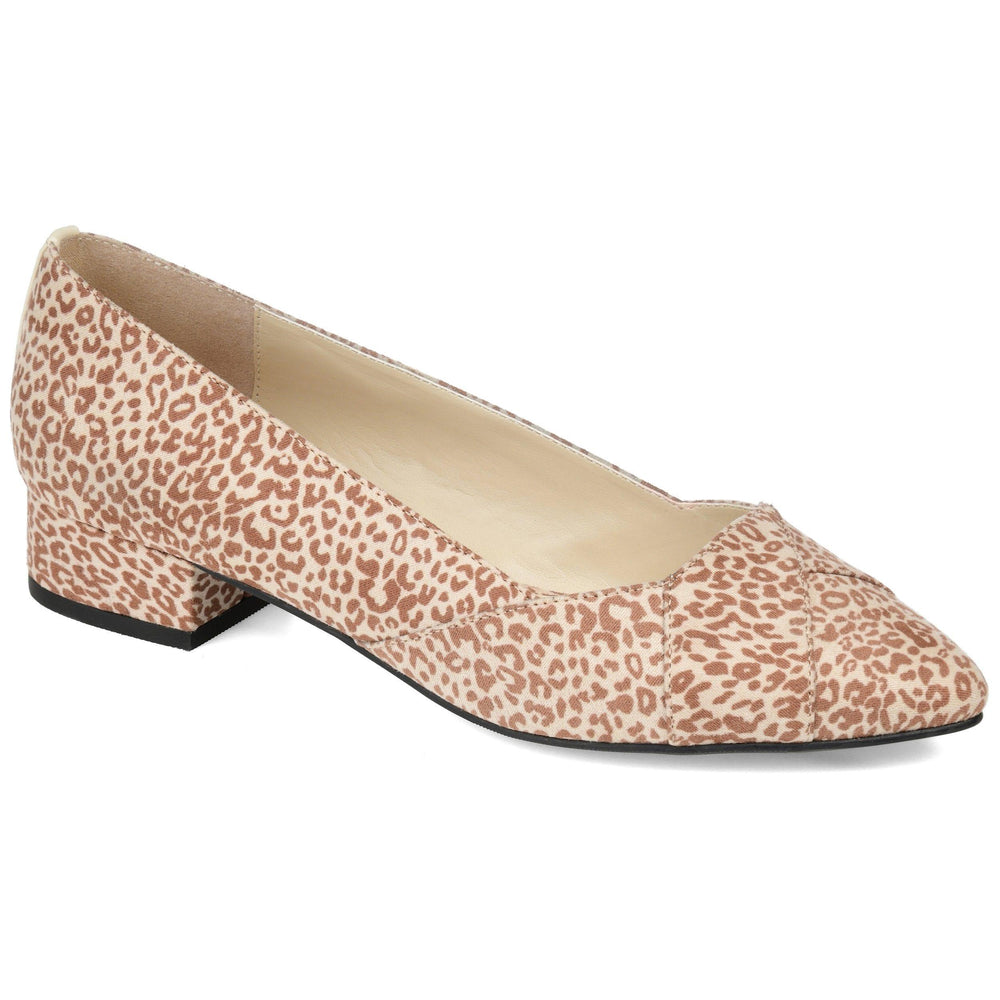 JUSTINE Shoes Journee Collection Leopard 5.5