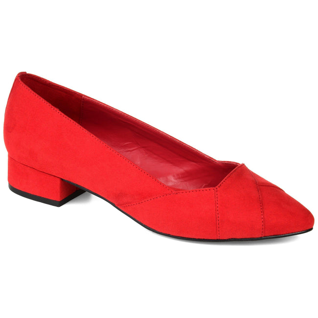 JUSTINE Shoes Journee Collection Red 5.5