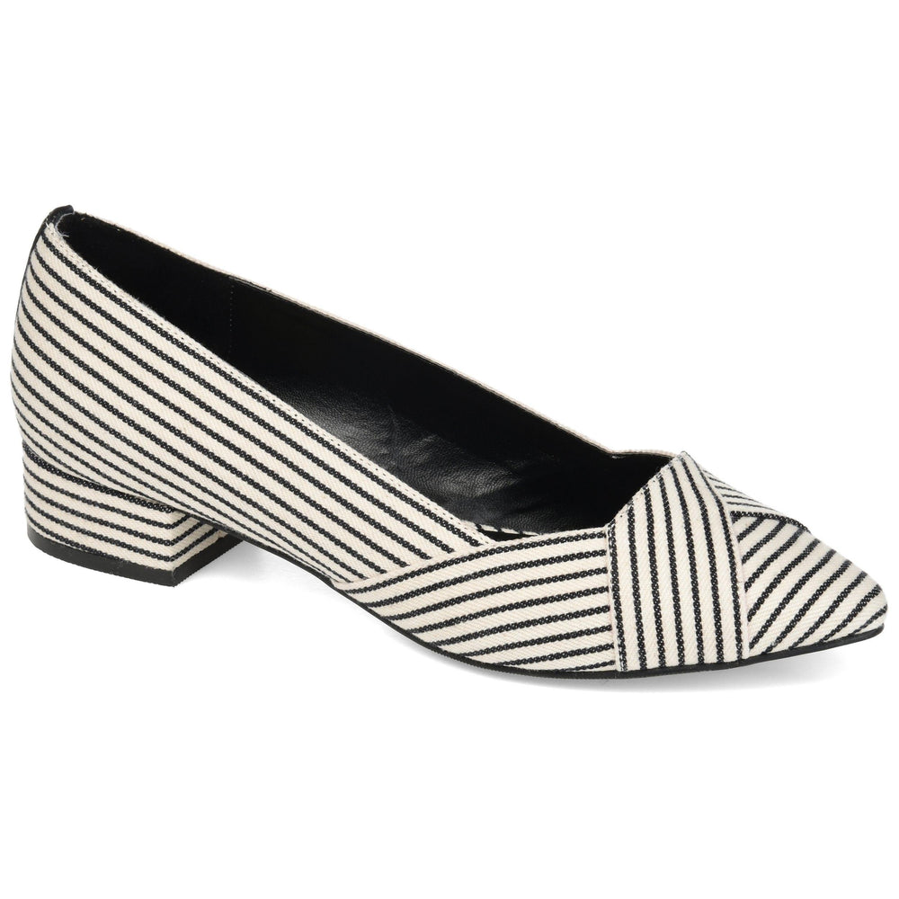 JUSTINE Shoes Journee Collection Stripe 5.5