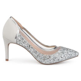 KALANI Shoes Journee Collection Silver 5.5