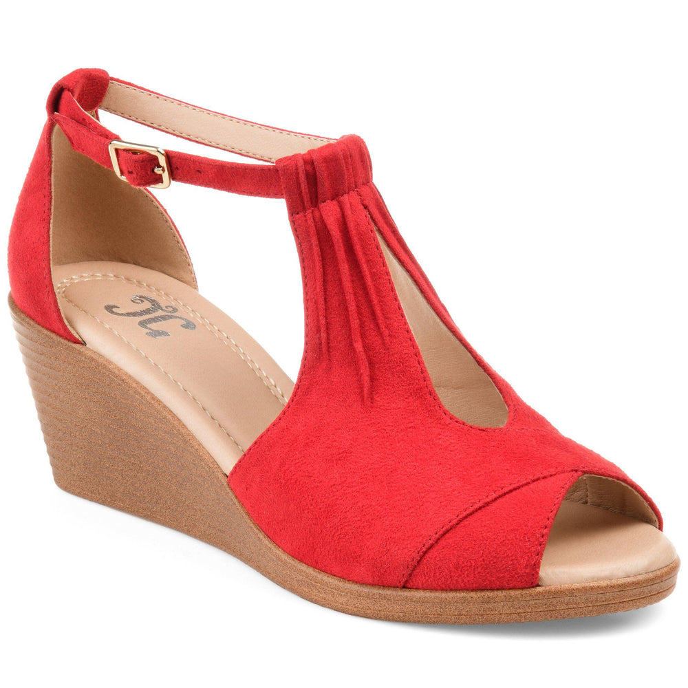 KEDZIE Shoes Journee Collection Red 5.5