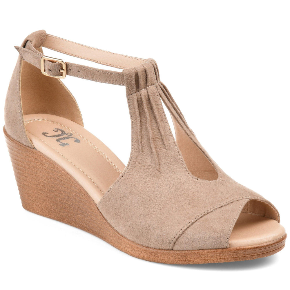 KEDZIE Shoes Journee Collection Taupe 5.5