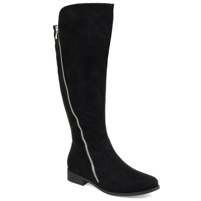 KERIN WIDE CALF Journee Collection Black 5.5