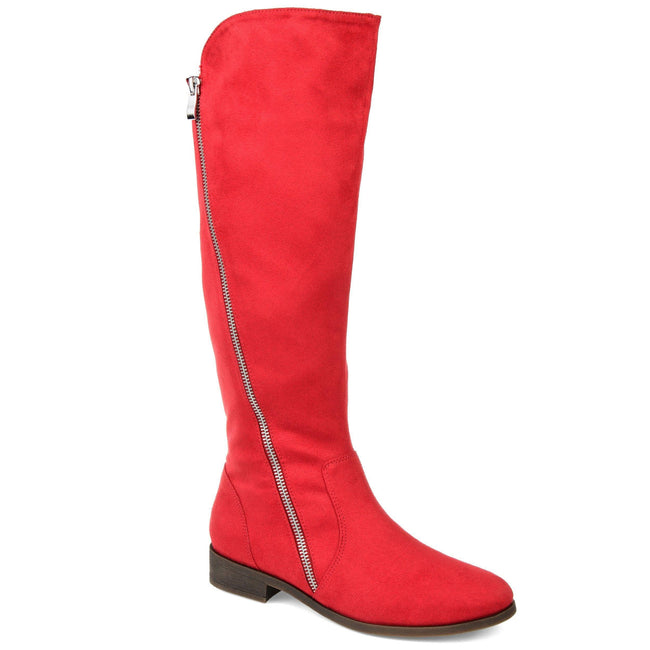 KERIN WIDE CALF Journee Collection Red 5.5