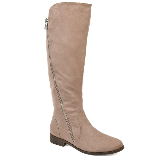 KERIN WIDE CALF Journee Collection Taupe 5.5