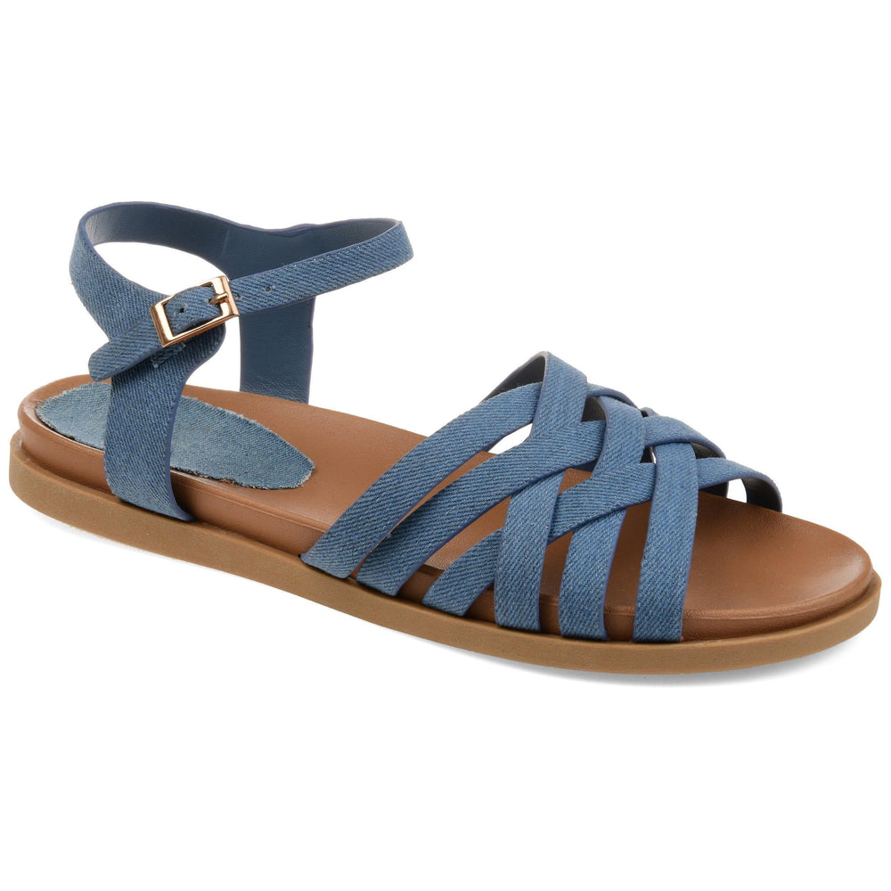 KIMMIE Shoes Journee Collection Denim 5.5