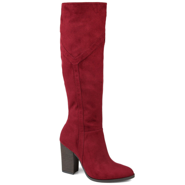 KYLLIE Shoes Journee Collection Burgundy 5.5