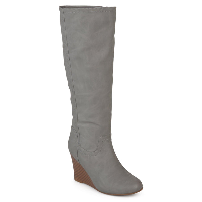 LANGLY Shoes Journee Collection Grey 5.5