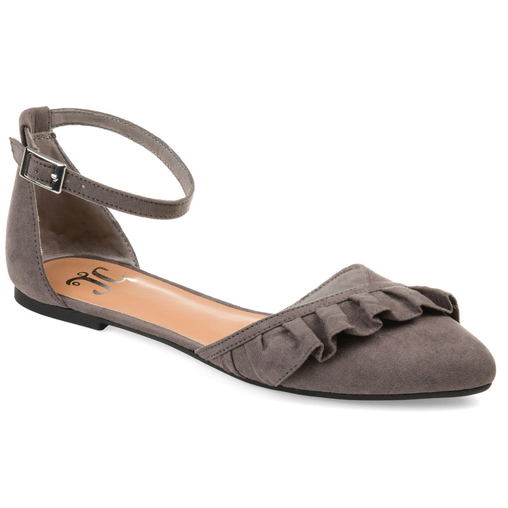 LAZAE Shoes Journee Collection Grey 5.5