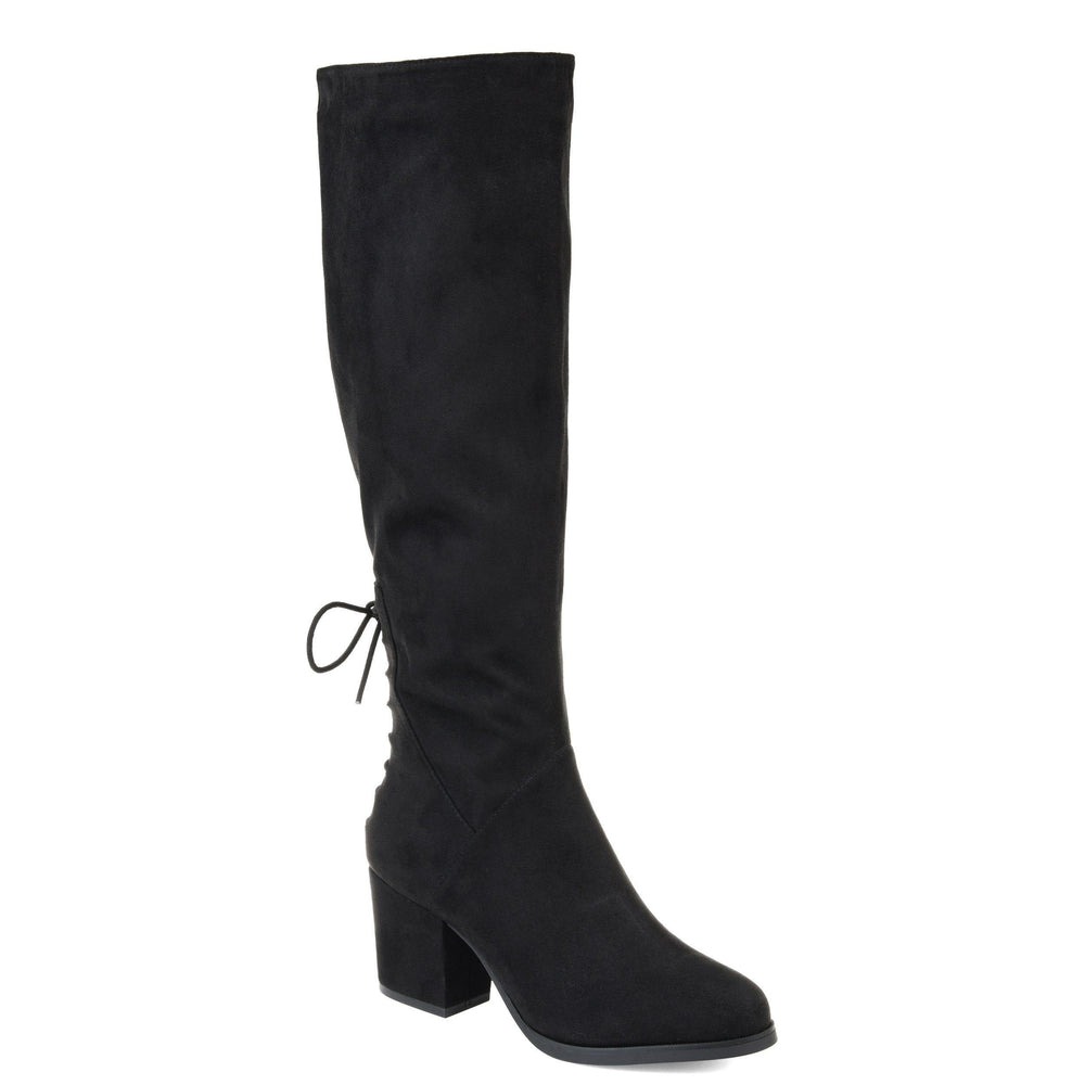 LEEDA EXTRA WIDE CALF Journee Collection Black 5.5