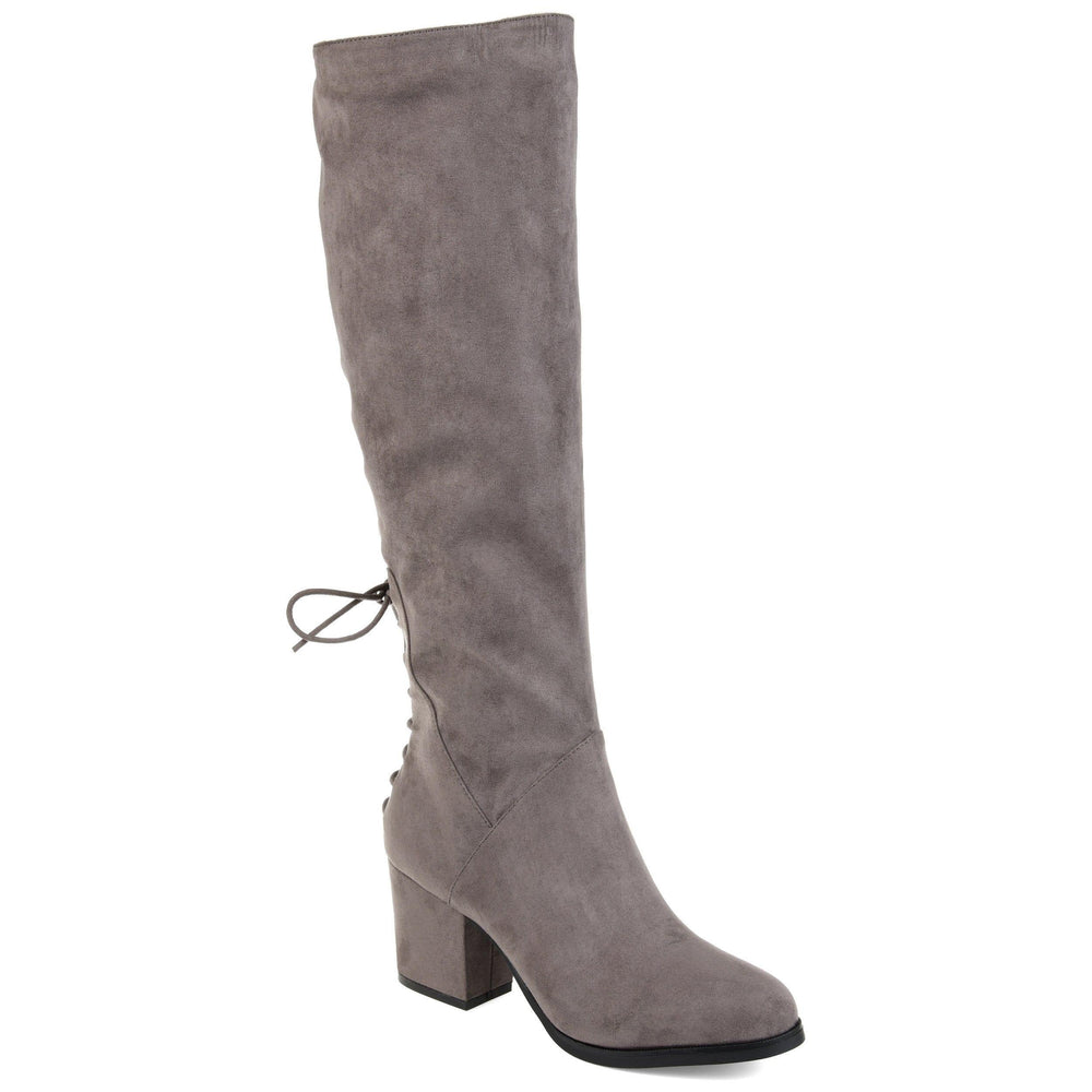 LEEDA EXTRA WIDE CALF Journee Collection Grey 5.5