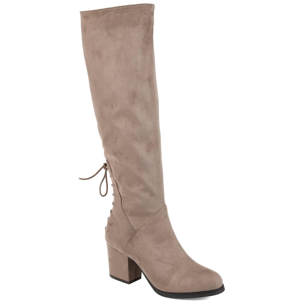 LEEDA WIDE CALF Journee Collection Taupe 5.5