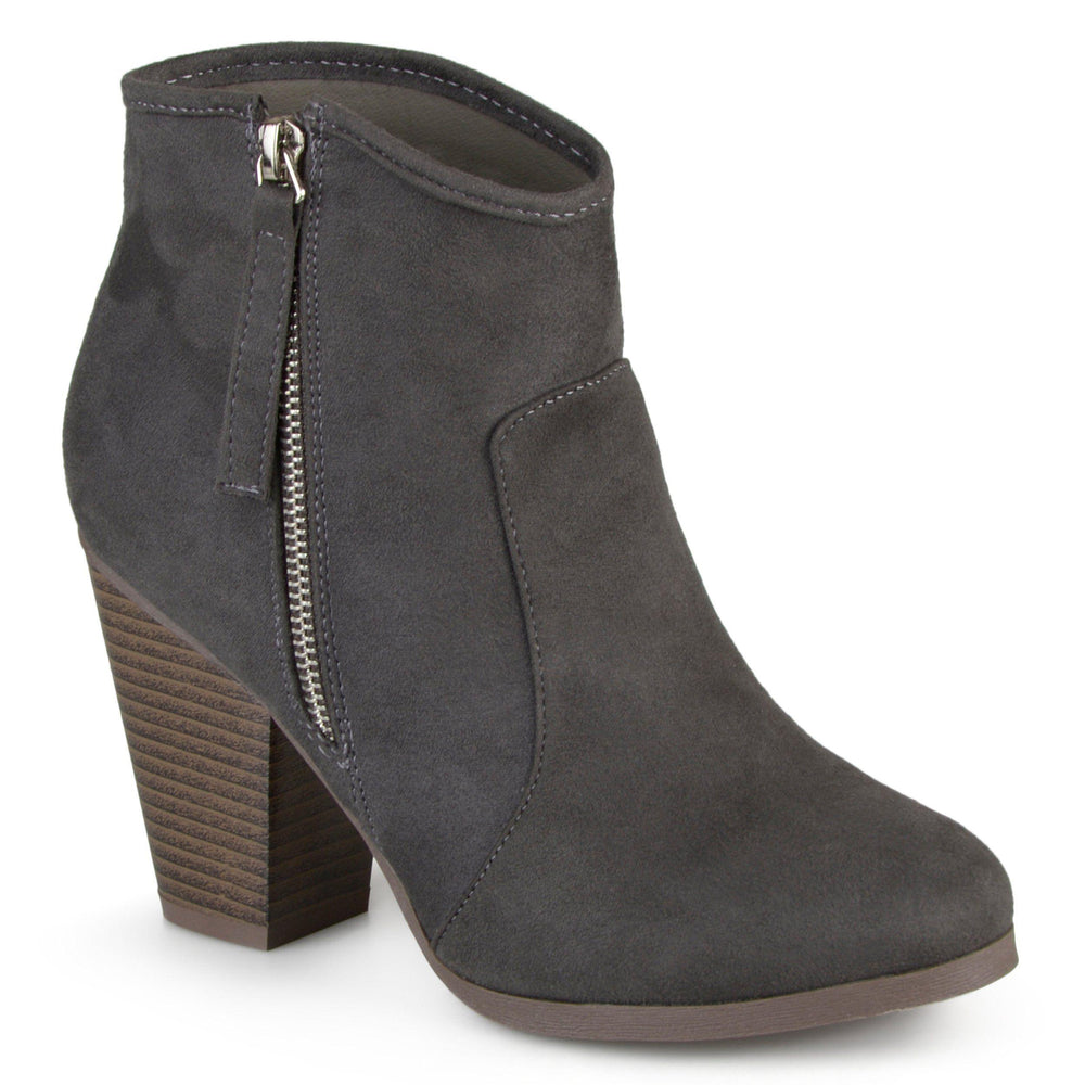LINK Shoes Journee Collection Charcoal 6