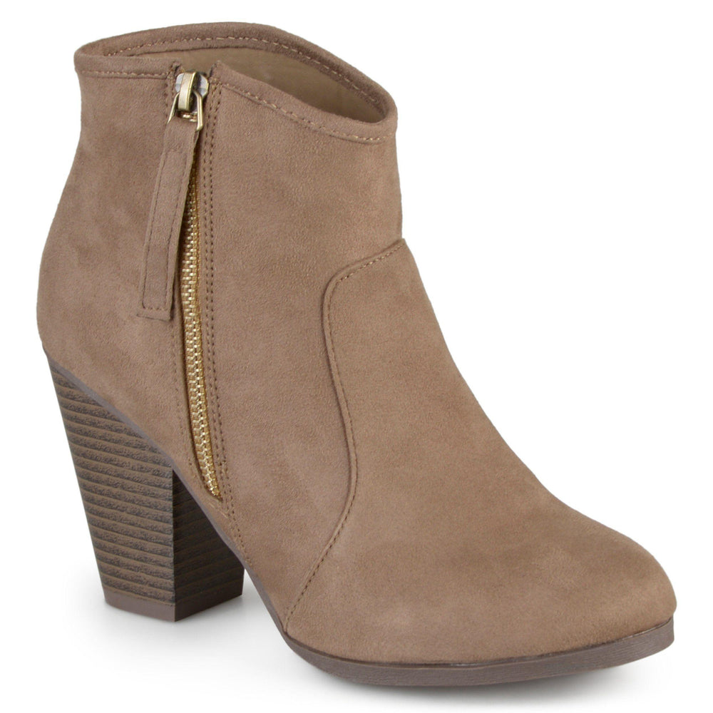 LINK Shoes Journee Collection Taupe 6