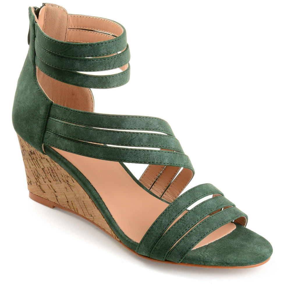 LOKI Shoes Journee Collection Green 5.5